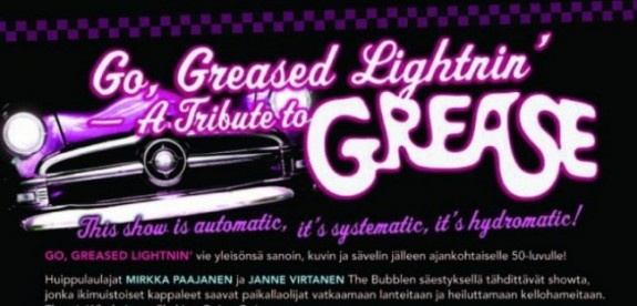 Go Greased Lightnin'